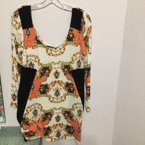 Venus Large soft great patterned blouse/tunic